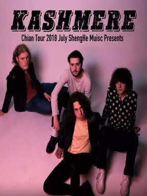 曼彻斯特【KASHMERE】英式摇滚 中国首秀